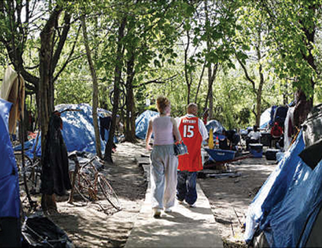 By Victor Thorn & INTERVIEW: New Jerseyu0027s Swelling Tent City u2013 American Free Press
