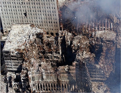 Demolished WTC