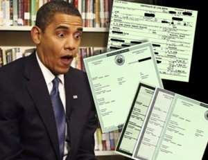 "Obama's ""birth certificate"""