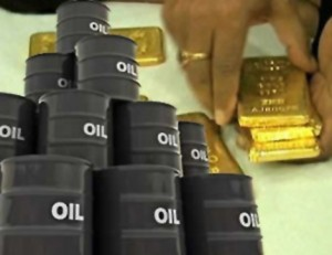 Oil for gold