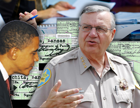 Sheriff Joe Arpaio: Obama Birth Certificate a Forgery