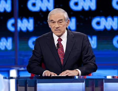 Ron Paul at the Arizona Republican Presidential Debate