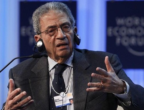 Israel and its allies in Washington and London are openly meddling in Egypt's elections, plotting to install Amr Moussa, a former top official under ousted President Hosni Mubarak.