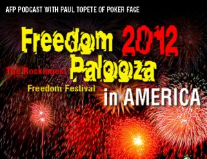 AFP PODCAST: FREEDOMPALOOZA 2012