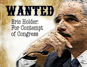 Holder In Contempt