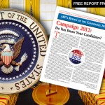 FREE REPORT: Presidential Candidate Review