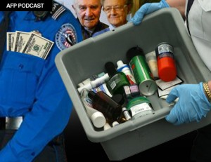TSA victims Omer Petti, 95 and Madge Woodward, 85