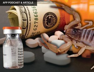 AFP PODCAST & ARTICLES: $83K Scorpion Sting Exposes Healthcare Scam