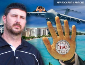 AFP PODCAST & ARTICLE: No Fly List for Thought 'Crimes'