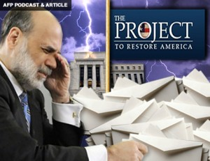 AFP PODCAST & ARTICLE: Help Audit the Fed, Now!