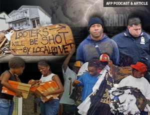 AFP PODCAST & ARTICLE: Hurricane Sandy's Untold Story of Looting, Violence, Resistance