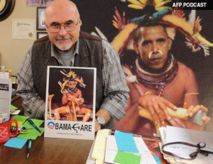 AFP PODCAST: Obama Witch Doctor Display Roils Town