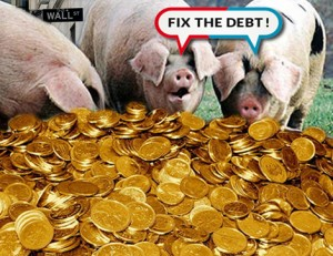 Plutocrats Call for Debt Relief to Avoid Paying Share of Taxes