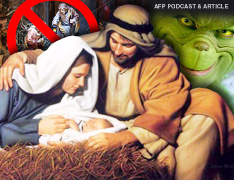 AFP PODCAST & ARTICLE: Atheists Score Big Victory Against Christmas