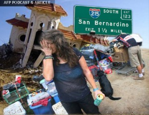 AFP PODCAST & ARTICLE: Fate of San Bernardino A Cautionary Tale for All of America