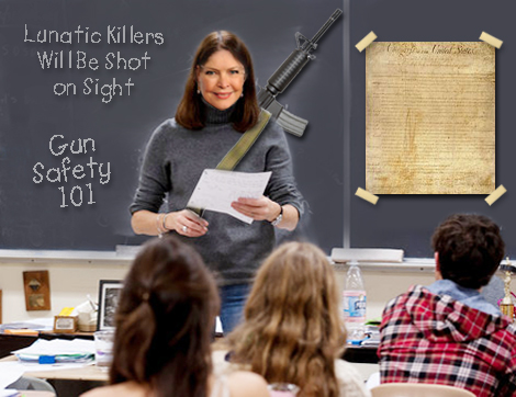 teachers and guns in schools Anyone who pushes arming teachers doesn't understand teachers and doesn't understand our schools adding more guns to schools may create an illusion of safety, but in reality it would make.