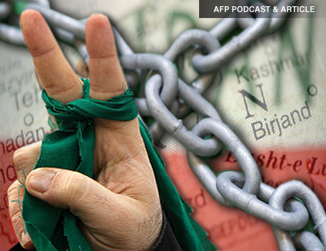 AFP PODCAST & ARTICLE: Sanctions Take Heavy Toll on Iranians