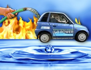 The Water-Fueled Car