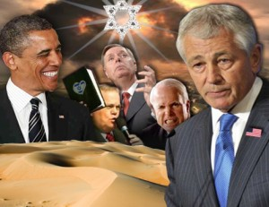 War Lobby Fights Hagel's Nomination