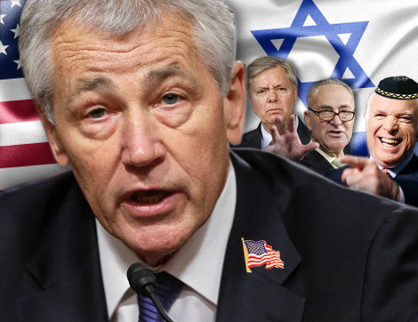 Comic Moments Surround Hagel Affair