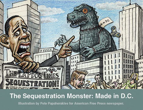 Sequestration Crisis a Fraud