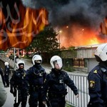 Asylum Seekers Burn the Asylum