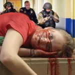 'Bloody' School Shooting Drills in Vogue