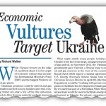 Economic Vultures Target Ukraine