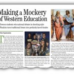 Making a Mockery of Western Education