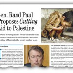 Rand Paul, Israeli Slave, Proposes Cutting Aid to Palestine