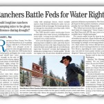 Ranchers Battle Feds for Water Rights