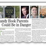 Sandy Hook Parents Could Be in Danger