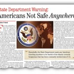 State Department Warning: Americans Not Safe Anywhere
