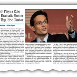 AFP Plays Role in Cantor's Dramatic Ouster