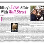 Hillary Clinton's Illicit Love Affair with Wall Street Billionaire Backers