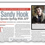 INTERVIEW: Father of Little Boy Murdered at Sandy Hook Speaks
