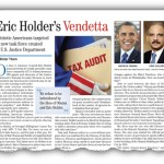 Eric Holder's Vendetta