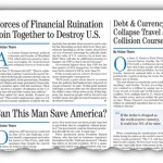 U.S. Financial Train Wreck Imminent