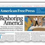 'Reshoring' Movement Brings Jobs Back to U.S.