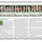 Rothschild Influence Deep Within GOP