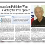 Outspoken Publisher Wins a Victory for Free Speech