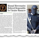 Mossad Mercenaries Believed Responsible for Ukraine Massacre