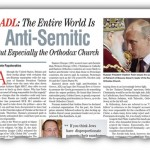 ADL: The Entire World is 'Anti-Semitic'
