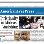 Christianity in Mideast Vanishing