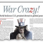 World Believes U.S. Greatest Threat to Global Peace