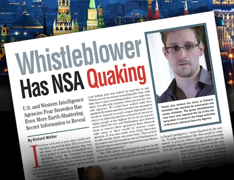Whistleblower Has NSA Quaking – American Free Press
