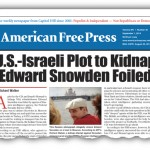 AFP EXCLUSIVE: U.S.-Israeli Plot to Kidnap Edward Snowden Foiled