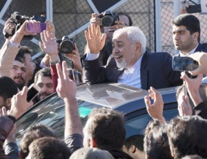 Iran's Nuclear Negotiators Arrive Home