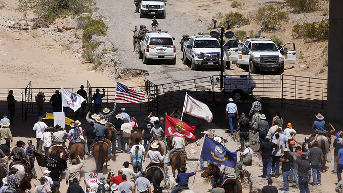Buddy Ranch Protest Nevada