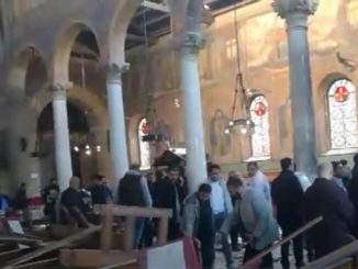 Coptic church blast Egypt